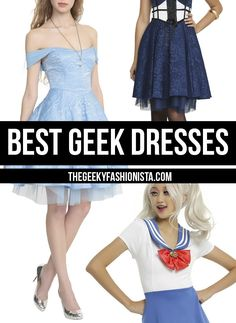 Best Geek Dresses // The Geeky Fashionista