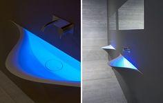 Corian® washbasin SILENZIO - Antonio Lupi Design®