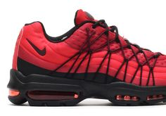 the best attitude 16833 ef3de NEW 2016 Nike Air max 95 Ultra SE Gym Red Night Maroon Black 845033 600 SZ  · Nike Shoes For ...