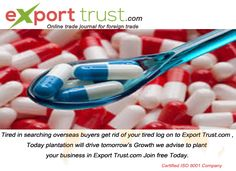 Export Trust assists to expand your imports and export business around Indian and international traders. For National and International Trade and post buy requirements feel free to call us 08807709999
