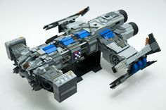 "Starcraft Battlecruiser Mk.II ""Norad II""  by (octavian) on Flickr"