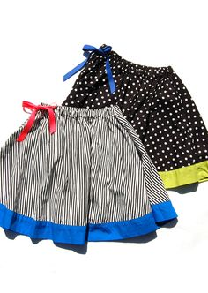 Skirt ll Blue H.make for Emma. Frocks For Girls, Little Girl Dresses, Girls Dresses, Girls Summer Outfits, Girls Wear, Kids Outfits, Sewing For Kids, Baby Sewing, Baby Girl Fashion
