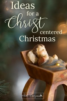 Our Favorite Ideas for a Christ-Centered Christmas If you ever feel like the holidays quickly become consumed with commercialism you'll love these simple Ideas for a Christ-Centered Christmas! Christmas Jesus, A Christmas Story, Simple Christmas, Christmas Holidays, Christmas Ideas, Christian Christmas Crafts, Holiday Ideas, Christmas Plays, Christmas Candy