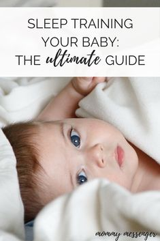 sleep training, baby sleep, how to get my baby to fall asleep, sleep props, sleeping independently, ultimate guide