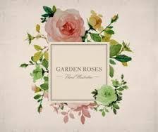 Image result for place name cards flower vintage