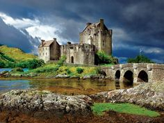"Eiliean Donan is a small tidal island where three lochs meet in the western Highlands of Scotland. Sharp, crisp, contrasting imagery makes this puzzle scene all the more fun to do!   Eilean Donan - 750 pieces. Finished size is 24"" x 18."" Includes bonus poster! By Buffalo Games.  #puzzlewarehouse #jigsaw #puzzle #jigsawpuzzle #eileandonan #eilean #scotland #castles #europe #landscapes #photography"