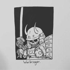 "12.1 mil Me gusta, 30 comentarios - Matt Bailey (@baileyillustration) en Instagram: ""Warbringer."""