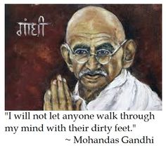 Mohandas Gandhi on Virtue