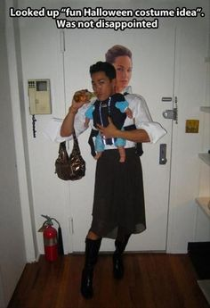 One Of The Funniest Hallowen Costumes Ever