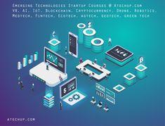 Atechup - Startup and Entrepreneurship Courses, Classes and Workshop Entrepreneurship Courses, Graphic Design Inspiration, Blockchain, Cryptocurrency, Infographic, Workshop, Technology, Digital, Platform