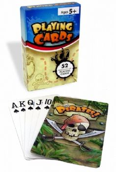 Pirate Playing Cards at theBIGzoo.com, a family-owned store. Check our sales & FREE Shipping.