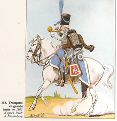 French; 2nd Hussars, Trumpeter, Grande Tenue, 1805
