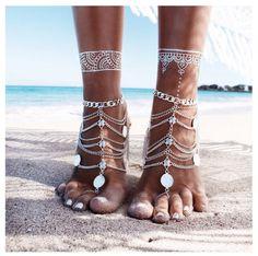 #enjoythekiss LOVE @gypsylovinlight #anklet #barefoot