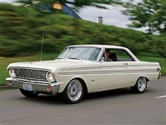 1964 Ford Falcon. I used to see one of these parked in my neighborhood in LA and... SWOON.