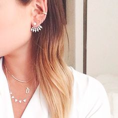 Accessory crush: ear jackets | BELMODO.TV