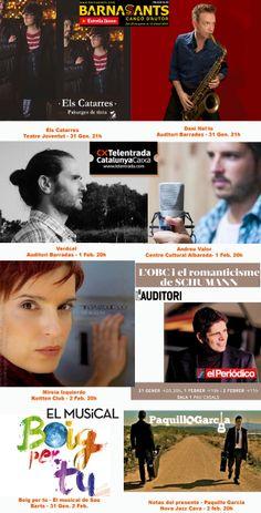 Aquí tenim unes quantes propostes musicals per aquest cap de setmana! Per a tots els estils! Win Money, Slot Online, Movies, Movie Posters, Author, Films, Film Poster, Cinema, Movie