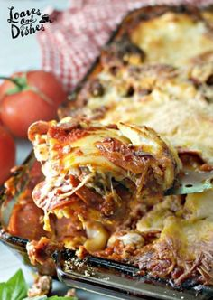 COWBOY LASAGNA Recipe Main Dishes with ground beef, italian sausage, tomato sauc… - Rezepte I Geschmack Casserole Recipes, Pasta Recipes, Dinner Recipes, Cooking Recipes, Lasagna Recipes, Dinner Ideas, Entree Recipes, Lasagna Food, Casserole Dishes