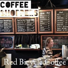 Red Bicycle Coffee and Crepes--Nashville Coffee Shop Review