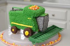 OH MY GOD I need this to go with my Tractor cake pan. Awesome!