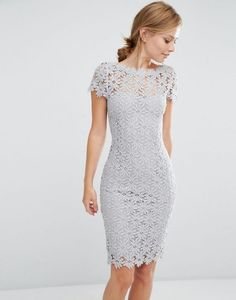 8360c809305e Discover Fashion Online Lace Dress Styles, Lace Dresses, Gray Dress, Lace  Dress Black