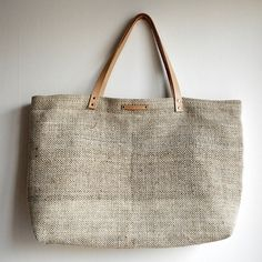 Pascale M./Betweenthelines - Hemp and cotton shopping tote