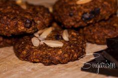Schoko-Bananen-Cookies paleo (zuckerfrei, glutenfrei)