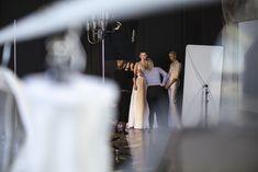 #shooting #backstage #prep # weddingdress #wedding #2018 #minimal #dress #wedding
