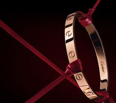 love bracelet in rose gold by cartier