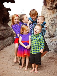 Huntington Beach Family Photography { O family sneak peek } » Meghan Owens Photography cousins pic love this