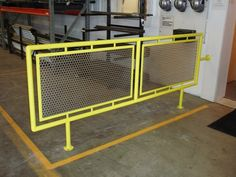 Mcnichols Perforated Metal Infill Panels At A Facility Stair Handrail Railings