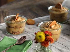 Valerie's Pumpkin Pudding (for Wolfie) recipe from Valerie Bertinelli via Food Network