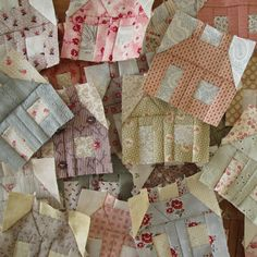 Building houses from scraps: De Huisjes stempel - The Little House stamp