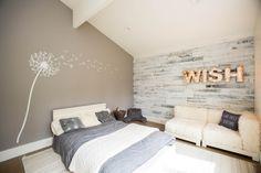 Wandtattoo pusteblume deko schlafzimmer weisse schablone taupe wandfarbe.jpg