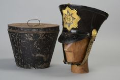 2nd Bengal Native Infantry East India Company Officer's Early C19th Shako. MFVM…