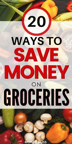 Very simple to learn how to save money on groceries. Use these 20 money saving ways to help your budget by learning to stretch it further. Save Money On Groceries, Ways To Save Money, Money Saving Tips, Grocery Items, Grocery Store, Healthy Eating Budget, Fresh Fruits And Vegetables, Frugal Living Tips, Extra Cash