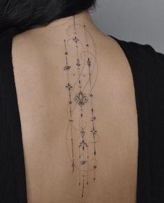 Dainty Tattoos, Pretty Tattoos, Girly Tattoos, Beautiful Tattoos, Small Tattoos, Spine Tattoos, Body Art Tattoos, Sleeve Tattoos, Buddha Tattoos