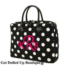 Monogram Laptop Bag | Personalized Tote Bags Personalized Canvas Tote Bags