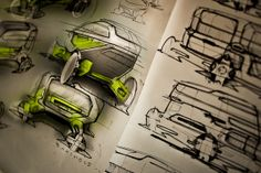 SKETCHES by Michael Barthels, via Behance