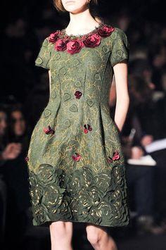 Alberta Ferretti Couture (Détail) Collection Automne Hiver 2014-15