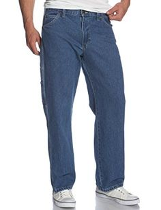 YUNY Mens Casual Big and Tall Pocket Solid Business Plain-Front Pant Navy Blue 35