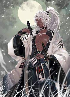 Dark Anime Guys, M Anime, Anime Art, Fantasy Character Design, Character Inspiration, Character Art, Black Anime Characters, Fantasy Characters, Black Cartoon