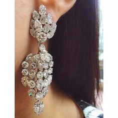 MAJOR #eargasm ALERT in the form of these stupendous 1960's Harry Winston…