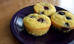 Lemon-Blueberry Coconut Flour Muffins * — Cooking God's Way