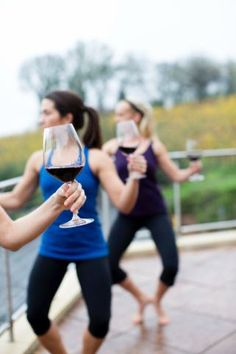 Barre + Wine = Bachelorette Perfection at Vineyard 29.