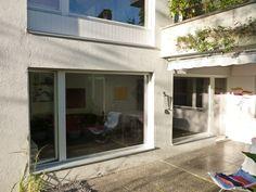 Fensterfront mit Balkontüre Windows, Balconies, Timber Wood, Window, Ramen