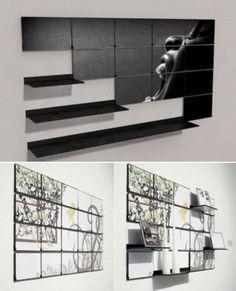 Fold-out Shelf