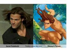 Jared Padalecki=Tarzan