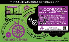 Come exchange your cable or chain lock for a FREE U lock.  Exchanges can be made at the CSA Bike Centre or our office