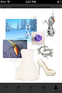 Olaf from Disney's Frozen Frozen Outfits, Disney Princess Outfits, Disney Outfits, Cute Outfits, Frozen Fashion, Disney Fashion, Teen Fashion, Fashion Outfits, Frozen Birthday Party