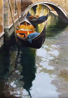 Raffaele Fiore - Arnot Galleries New York Pictures Of Venice, Venice Painting, Italian Paintings, Beautiful Streets, Winter Pictures, Italian Artist, Indian Art, Belle Photo, Art And Architecture